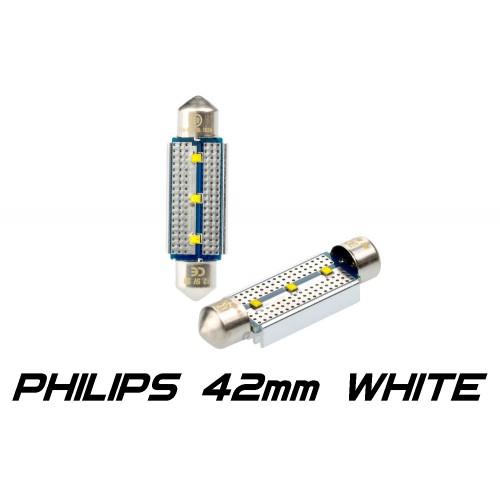 Optima Premium PHILIPS CAN Festoon 42 mm белая с обманкой