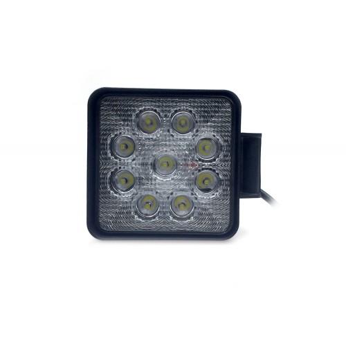 Светодиодная фара-прожектор 27W SLIM, 9 LED