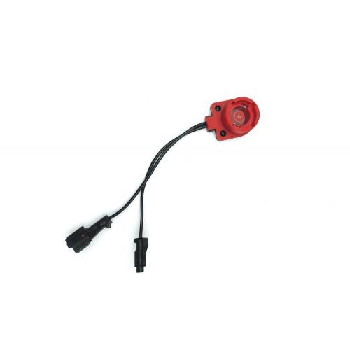 Переходник от блока KET-02 к лампе D2S (красный плоский игнитор)