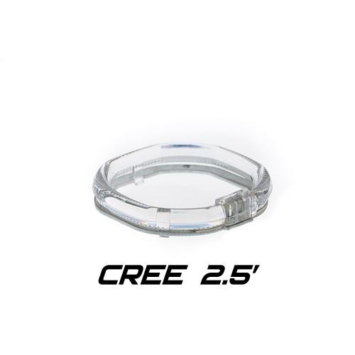 Ангельские Глазки CREE 2.5 дюйма квадратные для бленды 261S