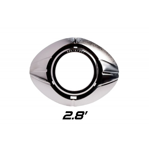 """Декоративная бленда Optima Z231 2.8"""" для линзы 2.8 дюйма круглая без АГ"""