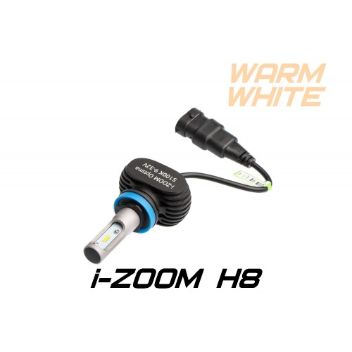 Светодиодные лампы Optima LED i-ZOOM H8 Warm White