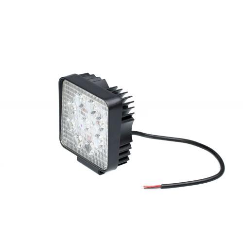 Фара светодиодная 27W SLIM, 9 LED - рабочий свет (заливающий свет)