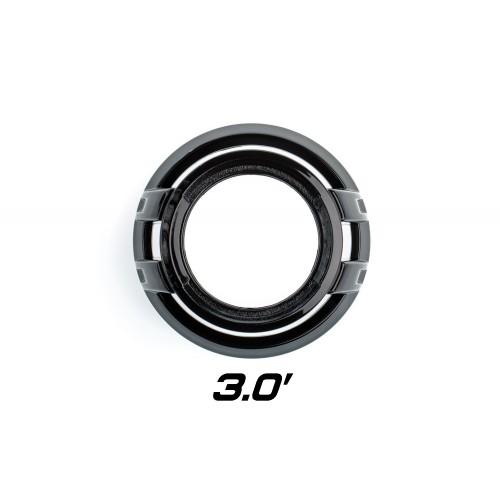"Декоративная бленда Optima Z100 Black 3.0"" для линзы 3.0 дюйма круглая черная"