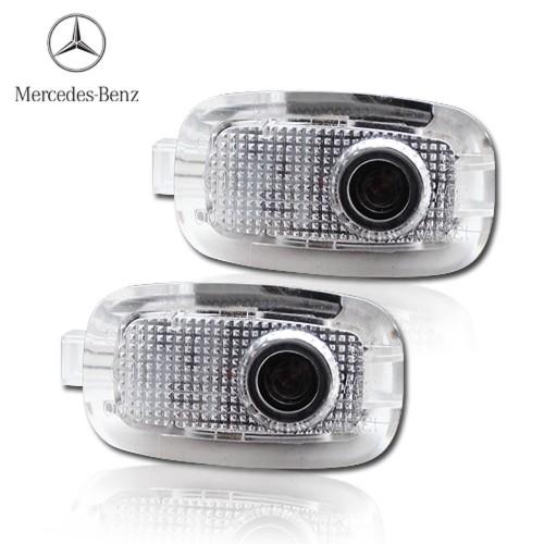 Светодиодная подсветка дверей Optima Premium на MERCEDES BENZ C-class