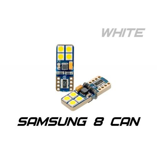 Optima Premium W5W (T10) Samsung Chip 8 CAN 5100K