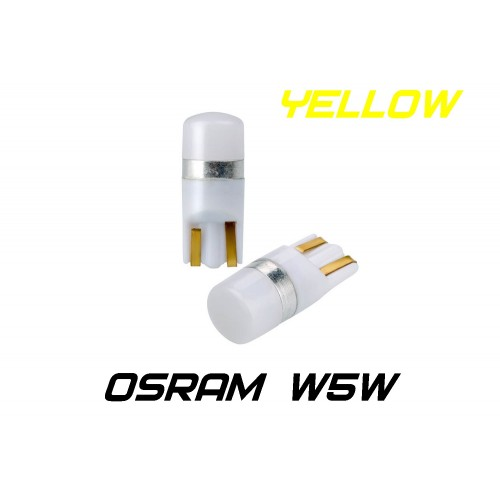 Optima Premium W5W (T10) Osram Chip Yellow