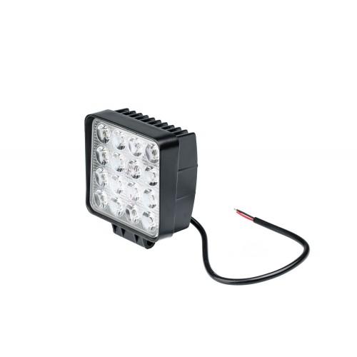 Фара светодиодная 48W, 16 LED - рабочий свет (заливающий свет)