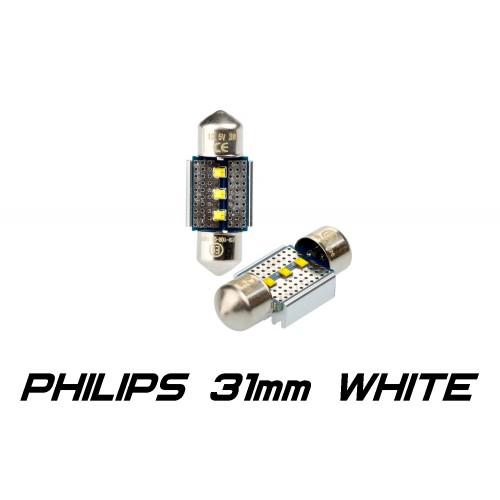 Optima Premium PHILIPS CAN Festoon 31 mm белая с обманкой