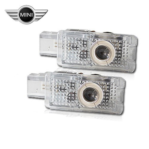 Светодиодная подсветка дверей Optima Premium на MINI
