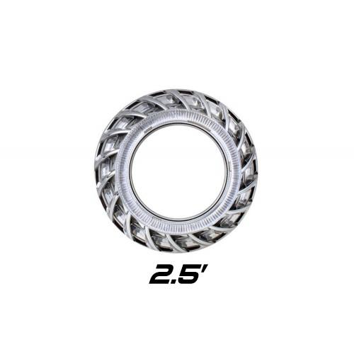 """Декоративная бленда Optima F2 2.5"""" для линзы 2.5 дюйма круглая под Ангельские глазки"""