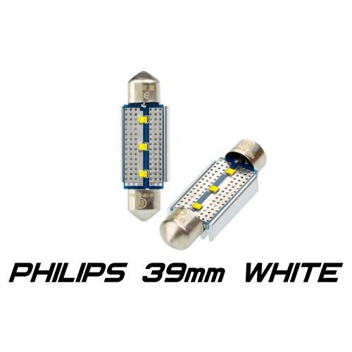 Optima Premium PHILIPS CAN Festoon 39 mm белая с обманкой